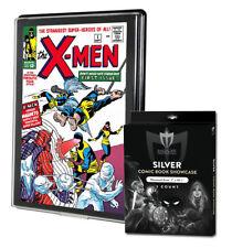 2 Max Pro Silver Premium Comic Book Showcases Wall Mountable Display Frames