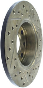 StopTech Slotted & Drilled Sport Brake Rotor - st127.04000R