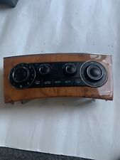 2006 Mercedes-Benz C Class A2038303085 Wooden Trim A/C Heater Control