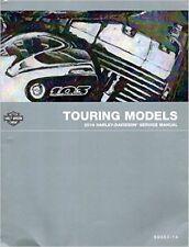 2014 Harley Davidson TOURING MODELS Service Repair Shop Manual Factory NEW 2014