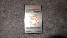 YAMAHA RSC3002 FX Drums Rhythm Sound Card RY30 RM50 SY/TG