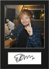 ED SHEERAN #3 Signed Photo Print A5 Mounted Photo Print - FREE DELIVERY