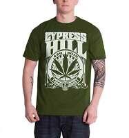 Nera Licenza Ufficiale Cypress Hill Sugar Skull Felpa