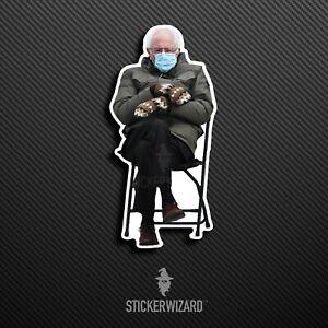 Bernie Sanders Meme Inauguration 2021 Sticker | Vinyl | Decal