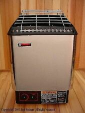Amerec Sauna DesignerB 6KW Sauna Heater with rocks and controls mounted to unit