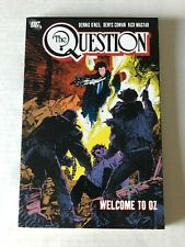 The Question Vol 4 Welcome To Oz Rare OOP TPB/Graphic Novel DC Comics 2009