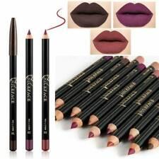 12 Color Pencil Lipstick Pen Matte Lip Liner Waterproof Long Lasting Makeup,