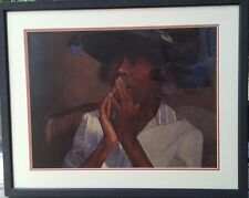 """DEAN MITCHELL Signed & Pro Framed Lithograph Print """"ROWENA"""" 266 of 550 with COA"""