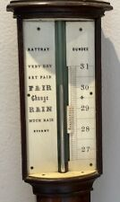 More details for beautiful stick barometer - rattray of dundee