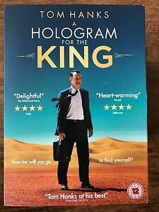 Hologram for the King DVD 2016 Middle East Drama Movie w/ Tom Hanks w/ Slipcover