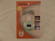 Kello TK-075 Mini Digital UV Meter Keychain w/Clock, Temp LL5 H
