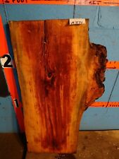 "#A371   2"" THICK  cherry burl live edge slab table shelf bench crafts"