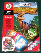 LeapFrog LeapPad Leap and the Lost Dinosaur 1st Grade Science - Complete