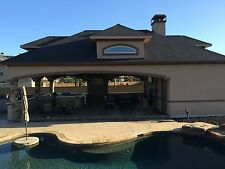DETAIL POOL HOUSE PLANS COMPLETE STUCCO