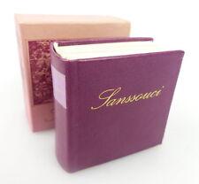Mini libro: sanssoucci Offizin andersen Nexö Leipzig cerraduras u. jardines p. bu0727