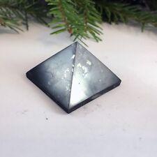 80x80mm (3,15 inches)  Polished shungite pyramid