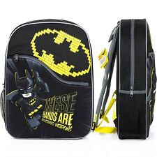 Boys Batman Backpack Large 3D Batman Backpack School Bag