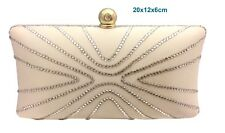 Blingustyle Swarovski ELEMENTS Lady Crystal Diamante Evening Party Clutch Bag 01