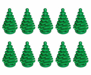 10x Lego Plant Small Pine trees Plants for the garden