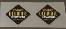 Tange Ultimate Prestige Fork Tubing Decals - Mirror Gold - 1 Pair (sku Tang871)