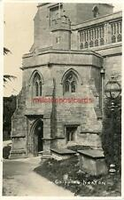 REAL PHOTOGRAPHIC POSTCARD OF CHIPPING NORTON CHURCH, OXFORDSHIRE, FRANK PACKER
