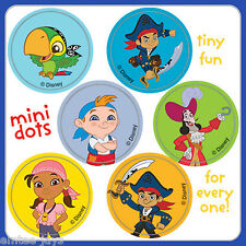 Jake and the Neverland Pirates Stickers - 48 Dots - Birthday Party Favours