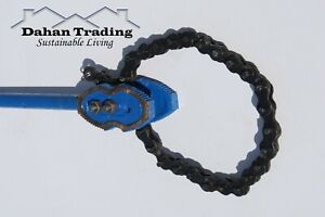 """Chain pipe wrench ratchet large heavy duty drop forged 6"""" (150mm)"""