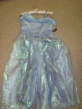 NEW Disney Store CINDERELLA Live Action Costume Blue Dress Sz 9/10