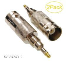 2-Pack BNC Female Antenna Conn. Radio Test Adapter for Motorola GP88/88S/338/328