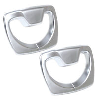 Chrome B Pillar Seat Safety Belt Decoration Frame Cover Trim fit BMW 3 4 Series