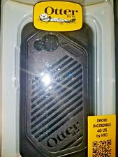 ** OTTERBOX COMMUTER SHELL CASE FOR HTC DROID INCREDIBLE LTE 4G BLACK NEW