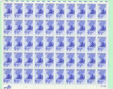 Usa Full Sheet of 50, Sc 1247, New Jersey Tercentenary, 1964, Mnh