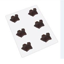 Bendable Plastic Chocolate Mold, Tefillin Shel Rosh & Yad Angled