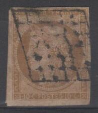 """FRANCE STAMP TIMBRE N° 1 a """" CERES 10c BISTRE BRUN 1850 """" OBLITERE A VOIR  N322"""