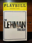 The Lehman Trilogy Broadway Playbill