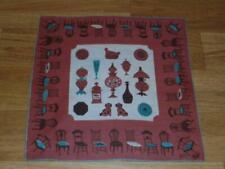 Vintage Tammis Keefe Chairs & Dogs Hanky Handkerchief Hankie