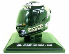 Altaya 1/5 Scale - Jorge Lorenzo 2012 Xlite Moto Gp Helmet with Plinth and Case