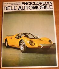 Sergio Pininfarina ENCICLOPEDIA DELL'AUTOMOBILE 1967 n° 36 DINO BERLINETTA 8/17