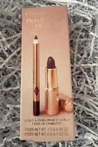 Charlotte Tilbury Mini PILLOW TALK Intense Lip Kit- Lipstick & Lip Liner BNIB