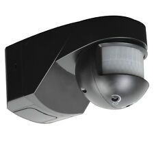 Knightsbridge IP55 200° PIR Sensor Black x1