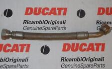 2001/2002-era Ducati 748 748R 916 996 oil cooler line pipe 54910591A *