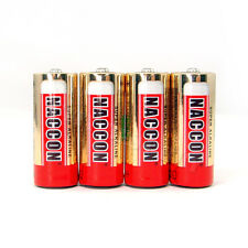 4 x LR1 LADY 1.5V Alkaline Battery AM5 E90 N KN 910A MN9100 NACCON Red