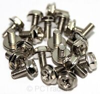 20x M3 6mm Fine Thread PC Computer DVD / CD / Floppy Drive Screws - FREE UK P&P