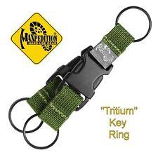 "MAXPEDITION ""TRITIUM"" KEY RING, OD GREEN WEBBING, MX1716G"