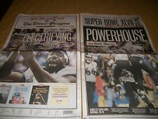 Baltimore Ravens Super Bowl XLVII 47 Champs New Orleans Times Picayune Newspaper