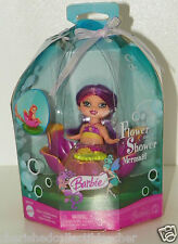 Barbie Doll Flower Shower Mermaid NRFB 3-in-1 She Floats, Spins and a Fountain