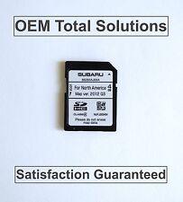 2013-2014 Subaru Legacy OEM Harman Navigation OEM SD Card Map #AJ69A US Canada