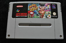 Chuck Rock Nintendo SNES