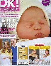Jan., 2015 OK! Magazine Mum & Baby Ptincess Charlotte Collector's Edition- Mint