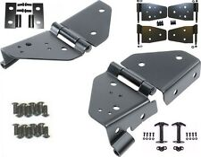 1987-1995 Jeep Wrangler Windshield, Hood and Door Black Hinge Kit